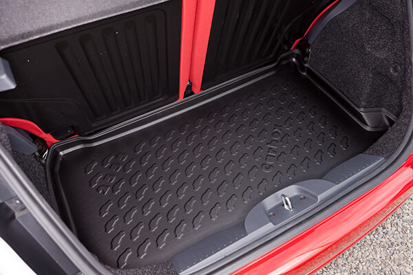 Toyota Aygo three door (2005 to 2014):Car boot liners