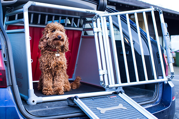 Maserati Levante (2016 onwards):Vehicle dog cages