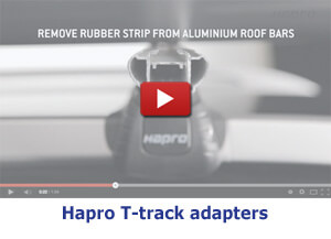 Hapro T-track Adapters