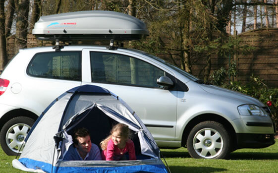 Short roof box and family