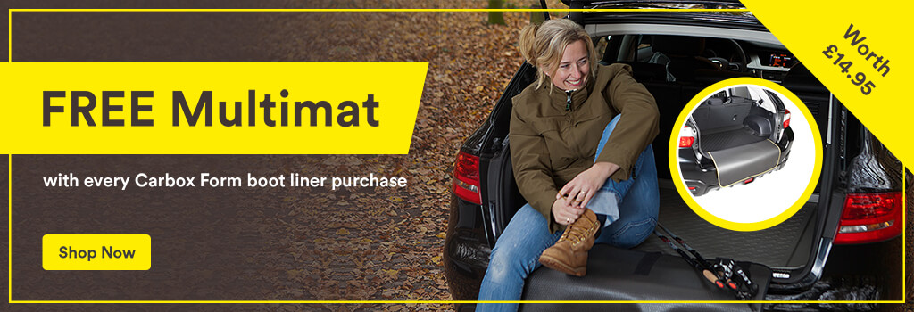 Free MultiMat bumper protector with every Carbox Form boot liner