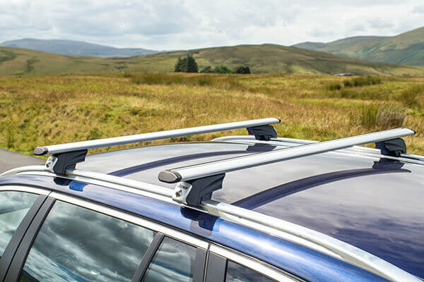 Rover 75 four door saloon (1999 to 2005):Roof bars