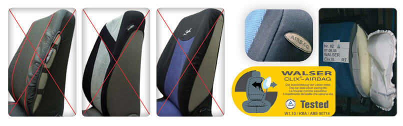Seat Covers We Sell Direct From Walser Walsers TUV Approved System