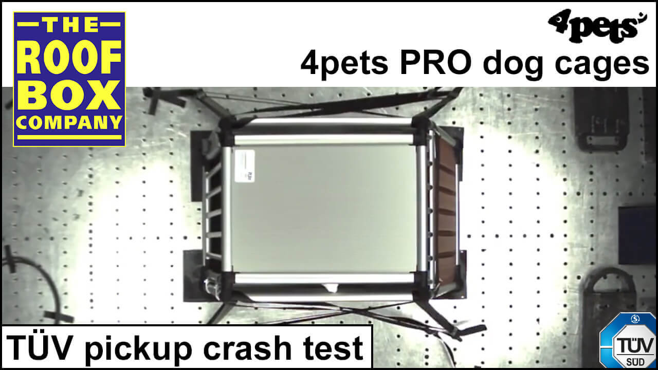 4Pets PRO TÜV pickup crash test