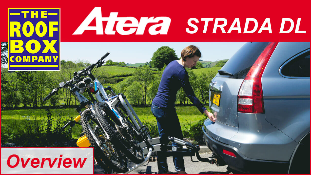 Atera Strada Dl 3 To 4 Bike Carrier Uk Lights No Ar2603