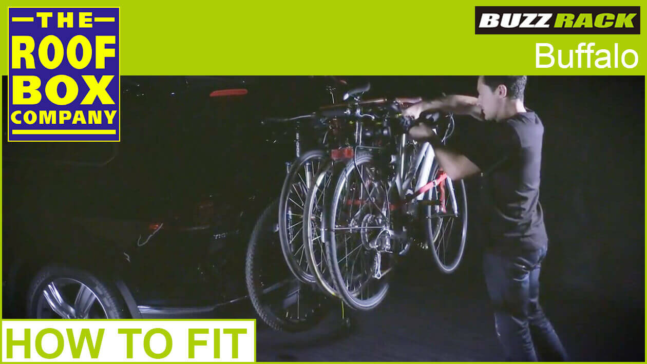 BUZZRACK Buffalo Bike carrier - How to fit