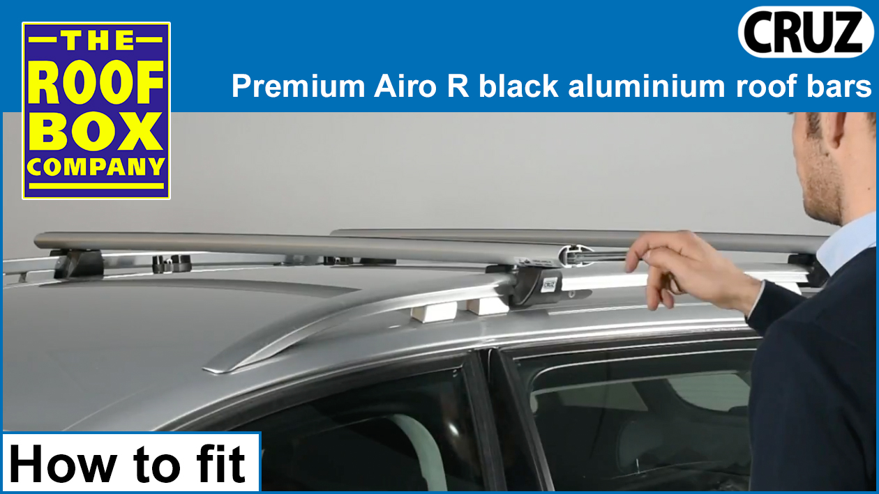 CRUZ Airo R aluminium bars - How to fit