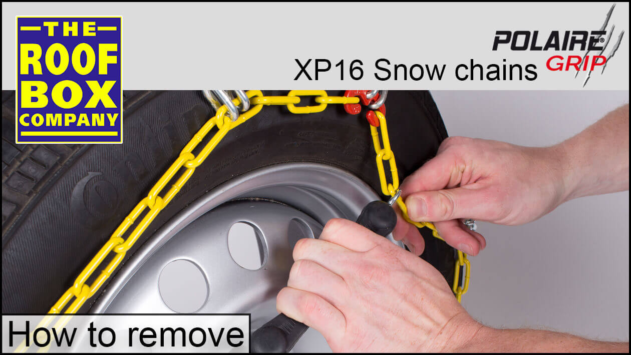 POLAIRE XP16 Snow Chain - How to remove