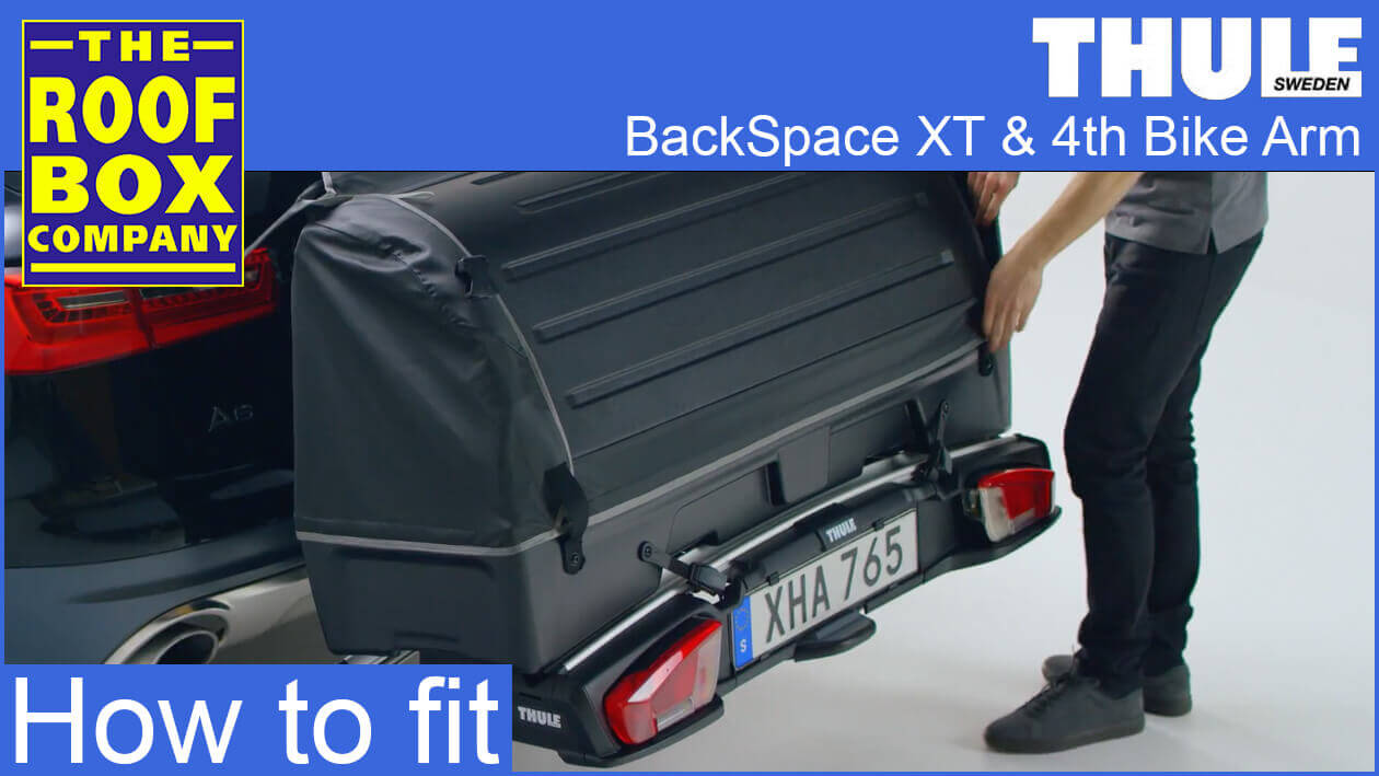 Thule BackSpace XT and 4th bike arm - How to fit
