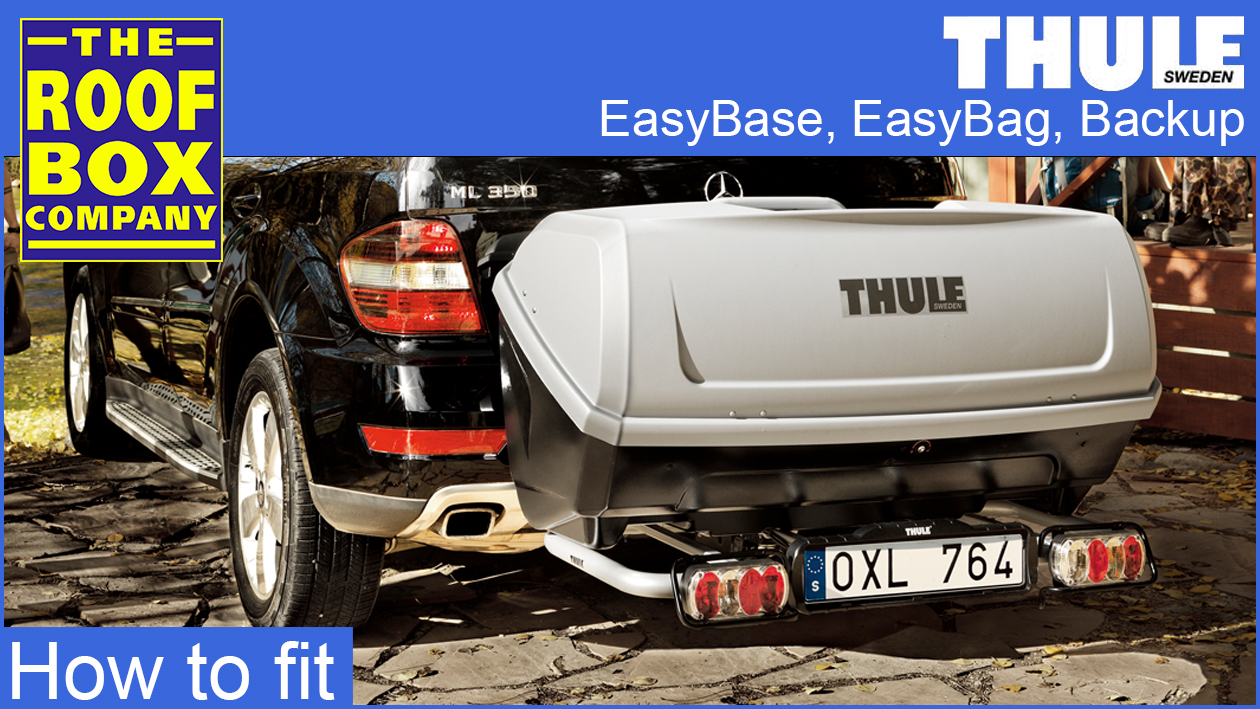 Thule EasyBase, EasyBag and Backup box - How to fit