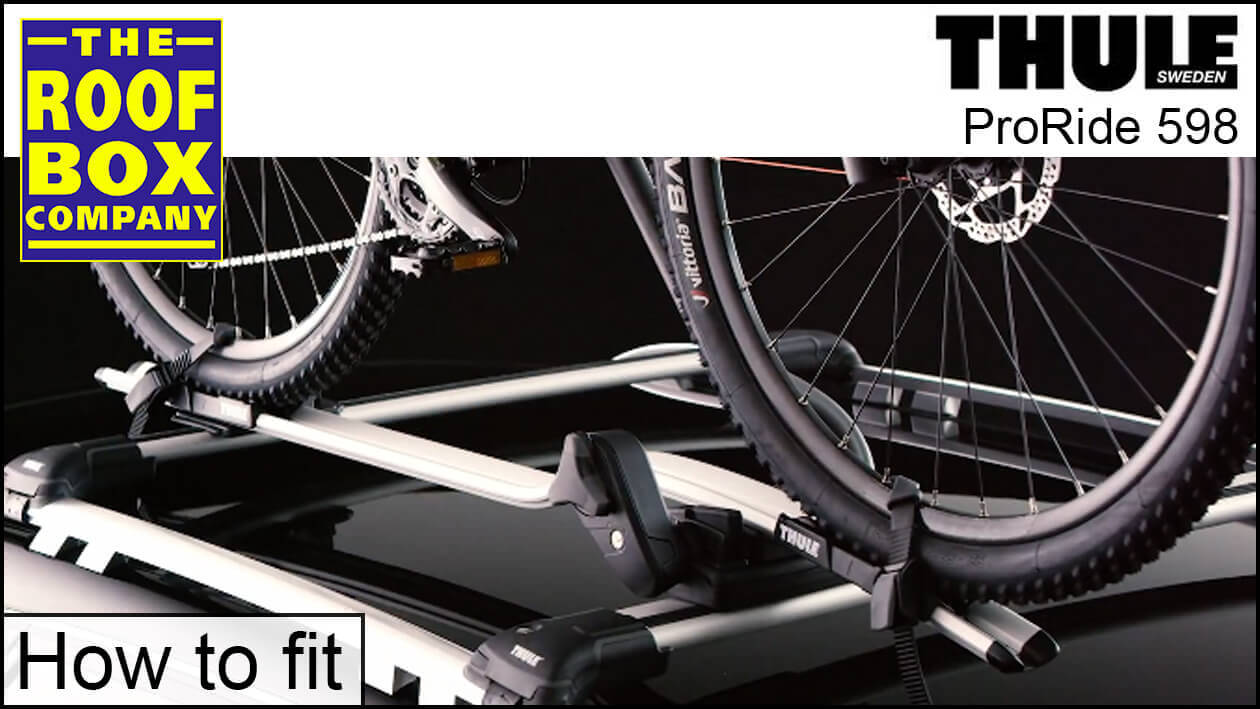 Thule ProRide 598 - how to fit