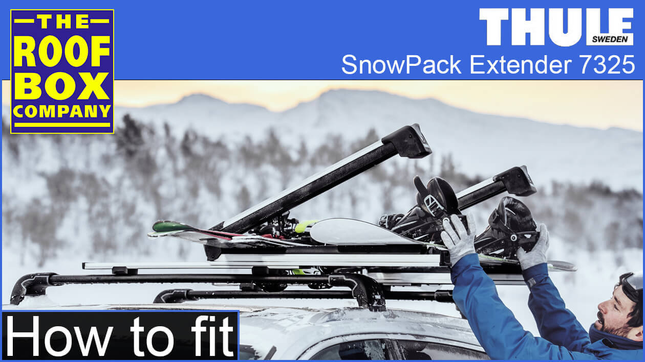 Thule SnowPack Extender - How to fit