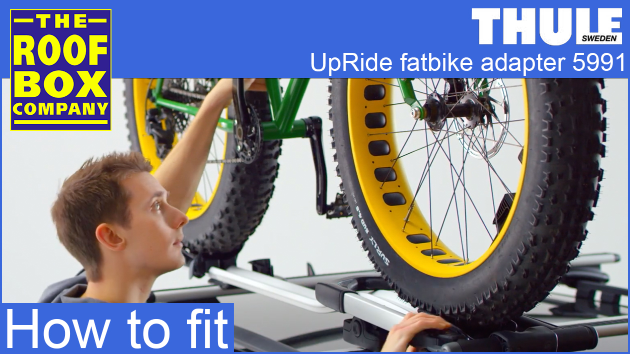 Thule Upride fat bike adapter TU5991 - How to fit