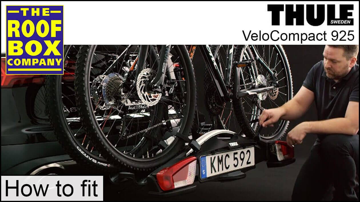 Thule VeloCompact 925 - How to fit
