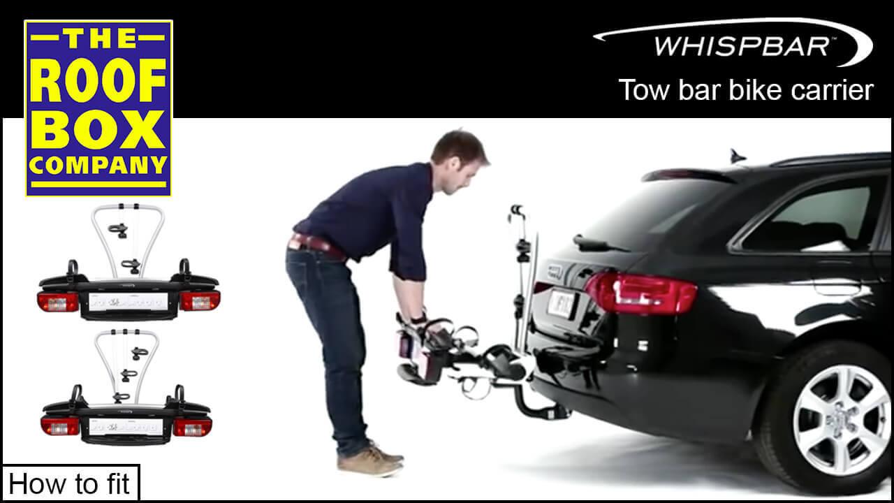 Whispbar 2 Bike Tow Bar Carrier No Wbt21
