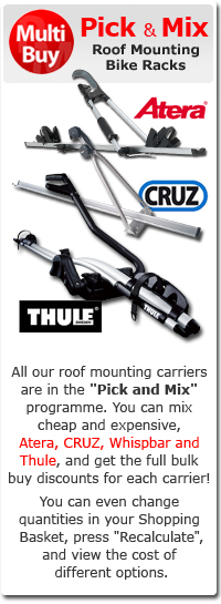 Roof Mounting Bike Racks Pick and Mix Offer