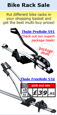 The Roof Box Company: Bike Rack Sale, best brands at best prices - Atera, Thule, MaxxRaxx, Saris, Buzz Rack, Tradekar