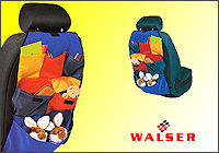The Roof Box Company: Walser Car Seat Covers - multi-pocket seat organisers