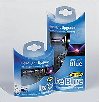 Blue Tinted Bulb Upgrades from The Roof Box Company