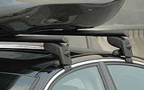 The Roof Box Company: Roof bars for cars with no obvious fixings; the bars clamp on
