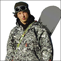 The Roof Box Company: Children's Skiweb 'Boardweb' Snowboard carrier