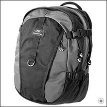 Spire Fuse laptop backpack in Arctic grey/black
