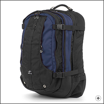Spire Meta laptop backpack in Midnight blue/black