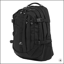 Spire Volt XL laptop backpack in Stealth black