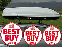 The Roof Box Company: KAMEI Husky XXL silver roof box