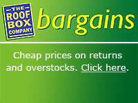 The Roof Box Company: Bargains in our Clearance Centre