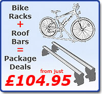 The Roof Box Company: Bike Carrier/Cycle Rack and Roof Bar/Load carrier Package Deals