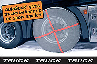 AUTOSOCK FOR TRUCKS textile wheel covers/snow chains at The Roof Box Company