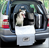 THE DOG BAG RANGE: Dog Bag, Pet Tube, USB, Jet Set, Marsupack, Sport Wagon, Home Comfort accessories at The Roof Box Company