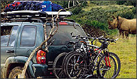 ROOF RACKS AND CARRIER BASKETS: Thule, Beman, Fasty, Land Rover - oe specification and Van-Racks at The Roof Box Company