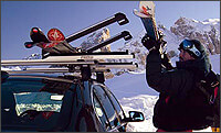 SKI CARRIERS AND WINTER ACCESSORIES: Thule, Atera, Fapa and RUD at The Roof Box Company
