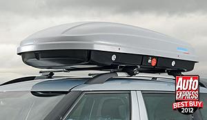 the roof box co news kamei husky xxl wins auto express. Black Bedroom Furniture Sets. Home Design Ideas