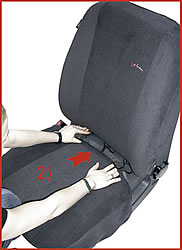 2) Front Seat Bottom Cover