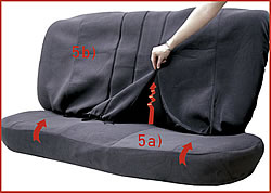 5) Back Seat Covers