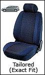 WALSER Tailored (Exact Fit) Velour Seat Covers