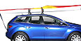 Kayak, canoe and small boat carriers, surfboard and sailboard racks, mast and paddle holders and other water sports accessories at The Roof Box Company.