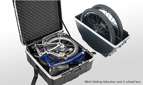 B&W's bike cases, cycle boxes and bicycle bags are available to buy from The Roof Box Company.