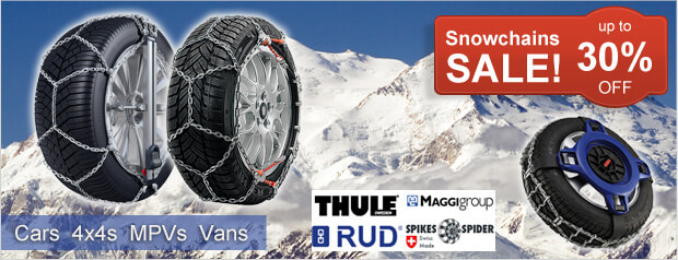 Pre-season snow chains offer. Up to 30% OFF!